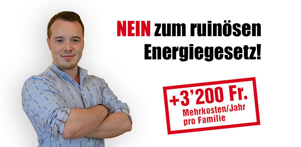 Samuel Lütolf Energiegesetz NEIN